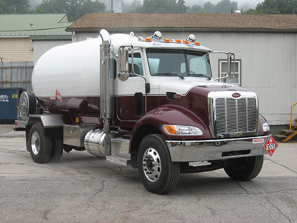 New Used Propane Delivery Trucks